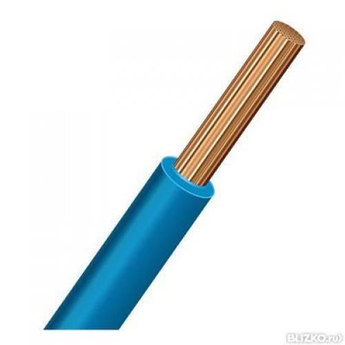Провод ПУГВ (ПВ-3) 1х4 синий ПУГВ 4 син