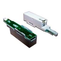 Штекер комплексной защиты для 1 пары, Ком Протект для плинтов, 260В, 10А/10Ка, с индикатором TWT-SAU