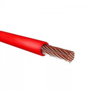 Провод ПУГВ (ПВ-3) 1х6 красный