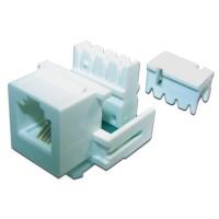 Модуль Keystone телефонный, RJ12 Port, UTP, 110, TWT-OK12UTP-110WH