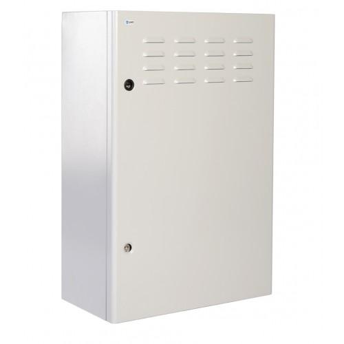 """Шкаф уличный 19"""" всепогодный настенный 6U (Ш600хГ300), передняя дверь вентилируемая ШТВ-Н-6.6.3-4ААА"""