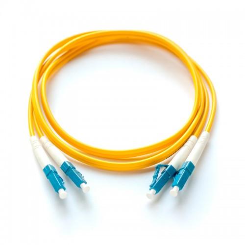 Патч-корд оптический дуплексный LC-LC одномод 1м MDX-2LC-2LC/1-S