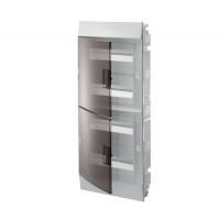 Бокс настенный Mistral41 48М прозрачная дверь (с клемм) 1SPE007717F9995