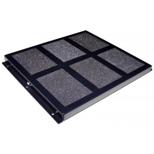Противопылевой фильтр в пол для шкафов Business глубиной 600 и 800 мм TWT-CBB-BDF-8