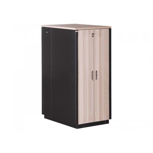 """Серверный звукопоглощающий шкаф 42U, 750х1130, SoundProof SERVER 19"""" цвет клён LN-SP-42U7511-M-BL"""