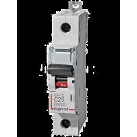 Автоматический выключатель Legrand  DX3-E C25 1П 6kA (407265)