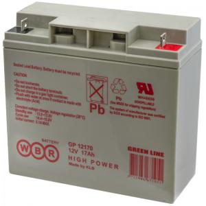 Аккумуляторная батарея WBR GP12170 (12V 17Ah)