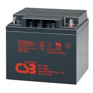 Аккумуляторная батарея CSB GP12400 (12V 40Ah)