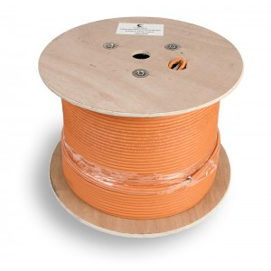 SFTP-4P-Cat.6a-SOLID-IN-LSZH Кабель витая пара, cat6a 10GBE S/FTP, 4 пары 23 AWG solid 305м