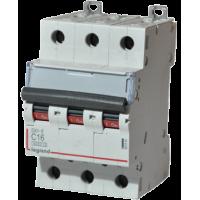 Автоматический выключатель Legrand  DX3-E C16 3П 6kA (407291)