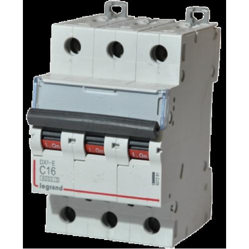 Автоматический выключатель Legrand  DX3-E C16 3П 6kA (407291) 407291