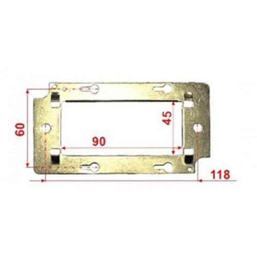 Металлический суппорт для установки 45х90 TWT-MF45x90