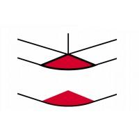 Угол внешний переменный от 60° до 120° - для кабель-каналов DLP 50х150 - белый