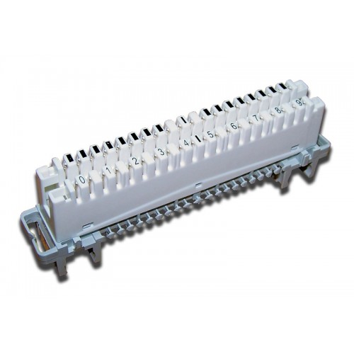 Плинт размыкаемый LSA Profil, highband, 10 пар, под хомут и профиль TWT-LSA10P-DIS-5E TWT-LSA10P-DIS-5E