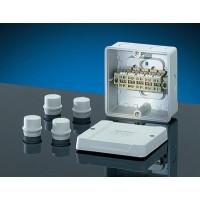 Коробка ответвит, с 4 сальниками ESM 25 (IP 55), размер 98х98х61