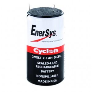 Аккумулятор одноэлементный  EnerSys Cyclon D cell 2V 2,5Ah
