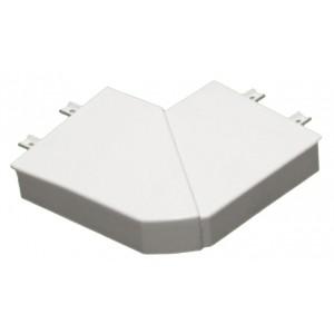 Угол плоский 90° - для односекционных кабель-каналов DLP 35/50х80 - белый