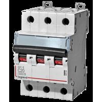 Автоматический выключатель Legrand  DX3-E C20 3П 6kA (407292)
