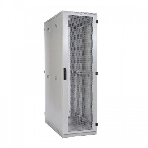 """Шкаф ЦМО серверный 19 """" напольный 42U (800x1000) дверь перфорированная 2 шт. ШТК-С-42.8.10-44АА"""