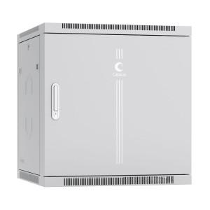"""Шкаф 19"""" 12U 600x600 Cabeus телекоммуникационный настенный, дверь металл, серый SH-05F-12U60-60m"""