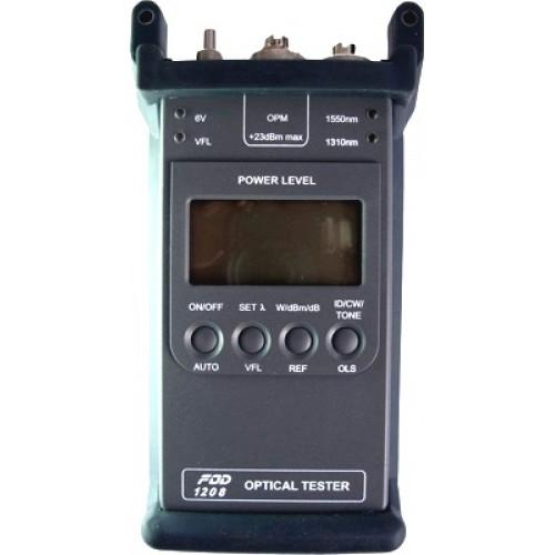 Тестер оптический FOD-1208 ( 1.31/1.55 mkm, FC, LD) FOD-1208