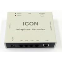 Автономное 4-канальное устройство записи телефонных переговоров с сетевым доступом TR4NS