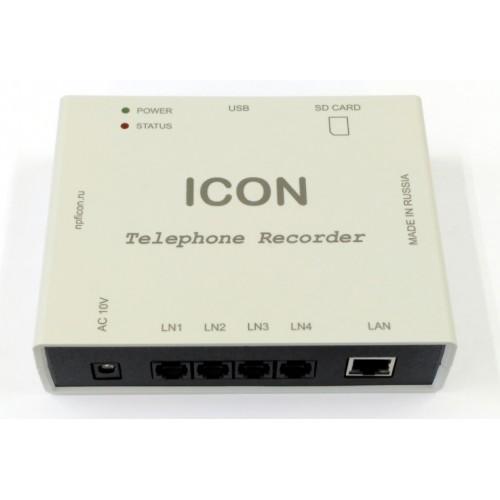Автономное 4-канальное устройство записи телефонных переговоров с сетевым доступом TR4NS TR4NS