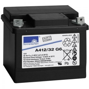 Аккумулятор гелевый Sonnenschein A412/32 G6 (12V 32Ah) GEL