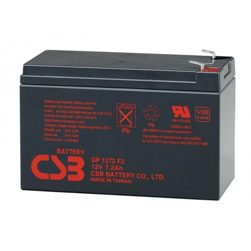 Аккумуляторная батарея CSB GP1272 (12V 7.2Ah) CSB GP1272 (28W)