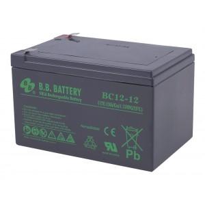 Аккумуляторная батарея В.В.Battery BC 12-12 (12V 12Ah)