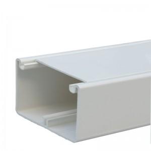 Кабель-канал DLP 50x80 - 1 секция - 1 крышка 65 мм - длина 2 м - белый