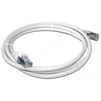 Патч-корд RJ45 кат 5e FTP шнур медный экранированный LANMASTER 10.0 м LSZH белый