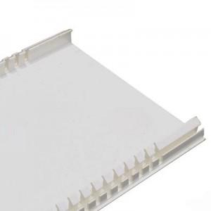 Полная крышка шириной 180 мм - для кабель-канала DLP 65x195 - 2м - белый