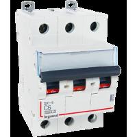 Автоматический выключатель Legrand  DX3-E C6 3П 6kA (407288)