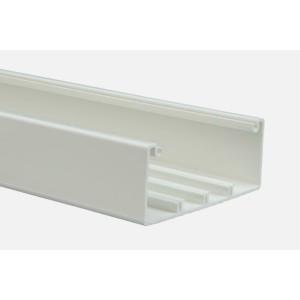 Кабель-канал DLP 65x150 -1 или 2 секции - длина 2 м - белый