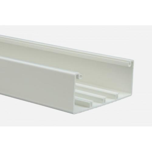 Кабель-канал DLP 65x150 -1 или 2 секции - длина 2 м - белый 10433
