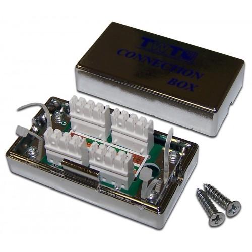 Соединительный модуль, экранированный, категории 5е TWT-CN110STP5E