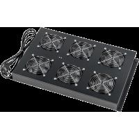 Блок 6-ти вентиляторов в крышу шкафа LANMASTER DCS глубиной 1070 мм