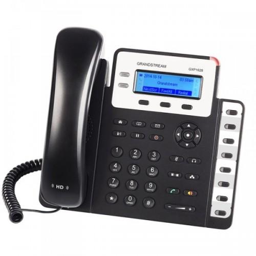 IP-телефон, 2 SIP линии, 8 BLF клавиш, PoE, Grandstream GXP1628 GXP1628