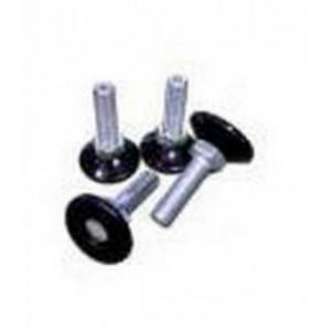 Комплект ножек для открытых стоек и напольных шкафов TWT, M12, 4 шт.