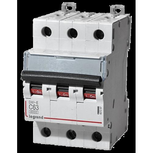 Автоматический выключатель Legrand  DX3-E C63 3П 6kA (407297) 407297