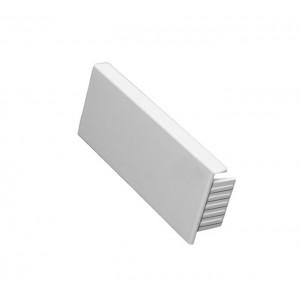 Торцевая заглушка - для мини-каналов Metra - 20x12