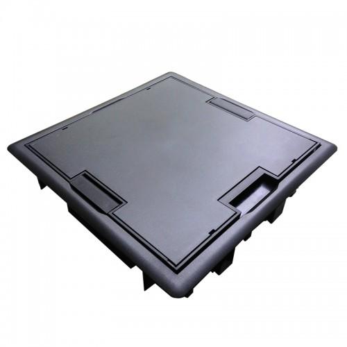 Люк - 16 модулей (8 розеток 45х45мм), антрацит (Efapel 83008 CAT) 83008 CAT