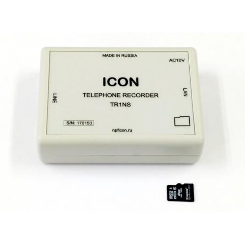 Автономное одноканальное устройство записи телефонных переговоров с сетевым доступом TR1NS TR1NS