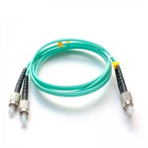 Патч-корд оптический дуплексный FC-FC многомод OM3 4м