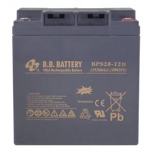 Аккумуляторная батарея В.В.Battery BPS 28-12D