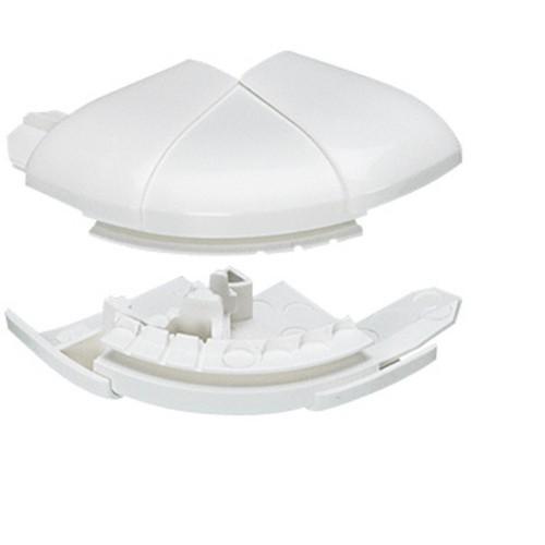 Угол внешний переменный от 60° до 120° - для кабель-каналов DLP 50х105 - белый 10619