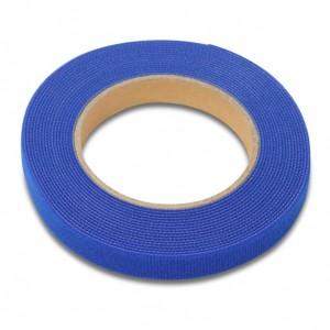 Рулон липучки, 5м х 16мм, цвет синий