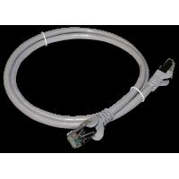 Патч-корд RJ45 TWT кат 6 FTP шнур медный экранированный 1.0 м серый