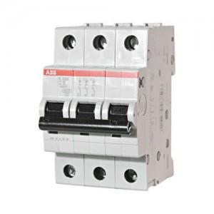 Автоматический выключатель ABB STOS203 C6 3п 6А  6кА (2CDS253001R0064)
